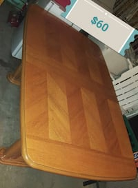 brown wooden table with chairs Edmonton, T5E 3R3