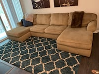 U Shape 3 Piece Sectional Couch from Ashley Furniture Fairfax, 22030