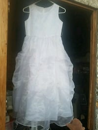women's white sleeveless dress Golden Valley, 86413