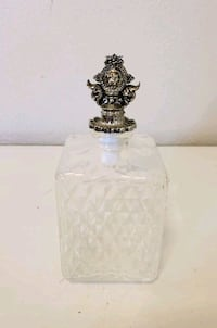 7 Inch Glass Decanter With Lionhead Stopper Santa Rosa, 95404