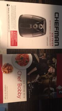 Chefman Airfryer almost new  Calgary, T2G 0C7