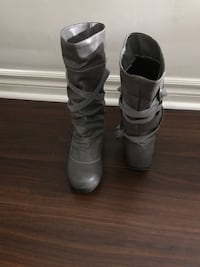 Gray boots, size 7.5, never worn  Toronto, M1S