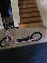 pink and white kick scooter Rockville, 20853