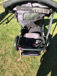 baby's black and gray stroller Vancouver, V6H 1Z8