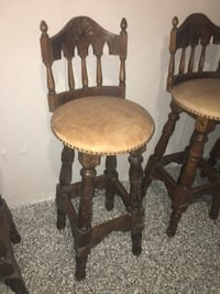 two brown wooden windsor chairs Vaughan, L4L 1V5