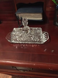 Two Stunning Butter Dishes Small $40 large $100 or both $120 Toronto, M6B 2A9