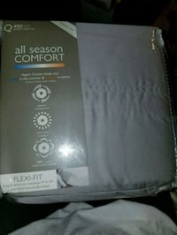 New Queen sheet set Gray  400 thread count  Fort Washington, 20744