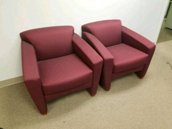 OFFICE SOFA & 2 CHAIRS FOR WAITING ROOM