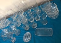 40 PIECES GLASSWARE ~~ MAKE OFFER Rock Hill, 29732
