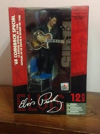 "68 comeback Elvis Presley 12"" figure London"
