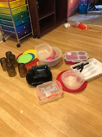 assorted plastic containers and containers Fort Collins, 80526