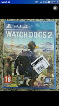 WATCH DOGS NUOVO PS4