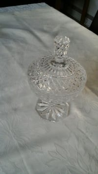 Crystal candy  bowl  Vaughan, L4H 2C2