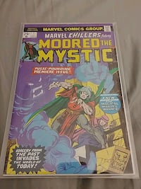 Marvel Chillers #1 comic book