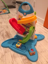 FISHER PRICE ROLLER BLOCKS PLAY WALL Musical TWO SIDES OF PLAY  East Windsor, 08512