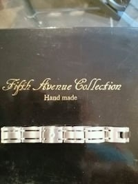 silver-colored Fifth Avenue Collection link braceklet Toronto, M6L 2R7