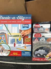 Create a city kit PLUS 2 cars for 12 or each car 4.00 they come with 25 feet of road tape  Owensboro, 42301