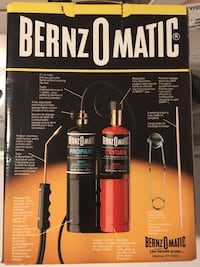 Bernzo Matic Adjustable Cutting /Welding Brazing Torch kit.