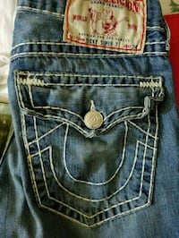 blue True Religion denim bottoms New York, 10463