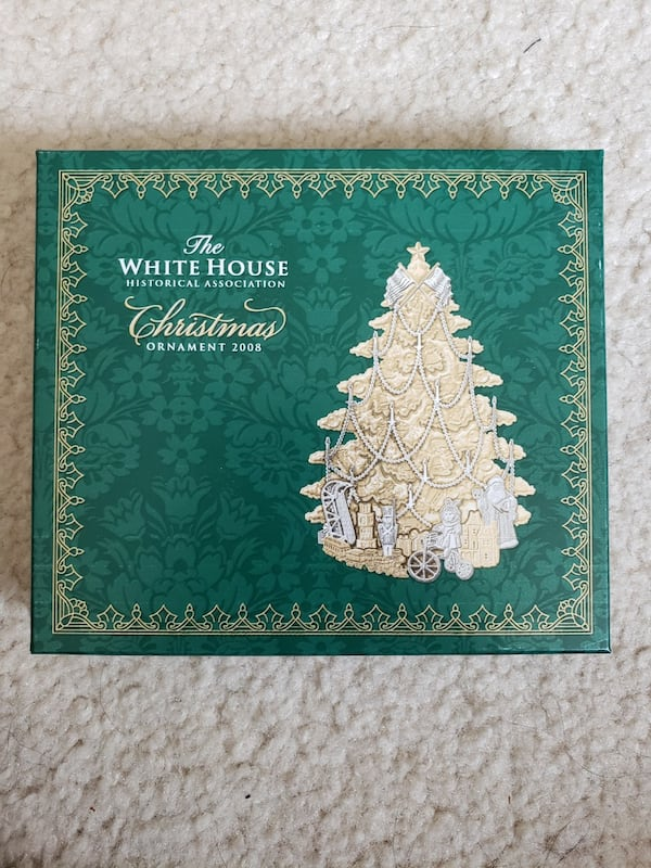 2008 Collectible White House Christmas Ornament dc05741a-73c9-4a13-a6db-4651744aea62