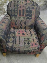 multicolored padded armchair Jefferson City