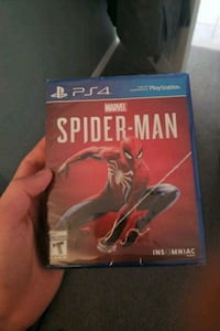 Spider-man ps4 sealed new Coquitlam, V3J 6R4