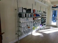 Glass Display Shelves For Salon Or Other Products Silver Spring, 20903