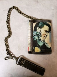 Elvis wallet with chain