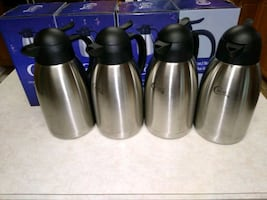 4 Coffee Insulated Thermal Carafe 64 oz
