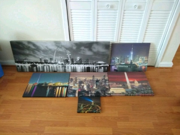 Canvas Skyline Prints
