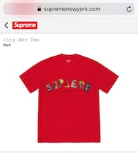 Supreme City Arc Tee (Red M) Mc Lean, 22102
