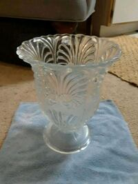 Large glass vase Greenville