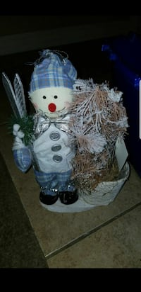 white and blue bear plush toy
