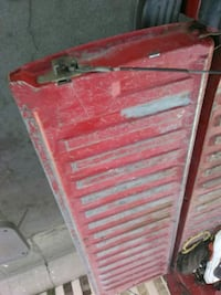 red and gray metal tool cabinet Bakersfield, 93304