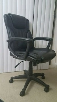 Broyhill Executive chair black leather Herndon, 20170