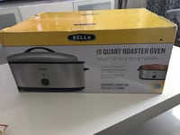 white and black Rival electric griddle box 55 km