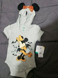 baby girl gray onesie 378 mi