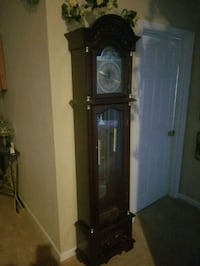 brown wooden framed glass display cabinet Nicholasville, 40356