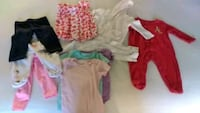 6 to 9 months baby stuff, 11 pieces=$11 Charlotte, 28205