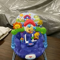 Bouncer chair. Plays music & lights up. Isanti, 55040