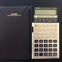 Casio FC-200 Financial Electronic Calculator (batteri ingår inte) Lund