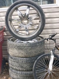 "26""rims with tires.  Martinsburg, 25404"