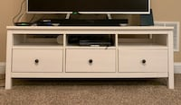 White wooden tv stand with cabinet Richmond, 40475