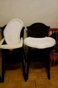 baby's brown and white high chair Columbia, 21044