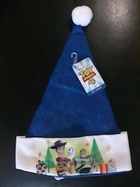 Christmas Toy Story 4 Santa Hat with snowflake designs