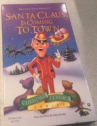 Santa Claus Is Coming To Town Movie VHS TAPE