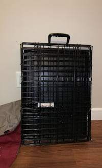 Dog crate and crate cover