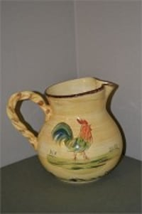 Rooster pitcher mugs plates Severn