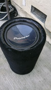 Pioneer open tube sub sounds excellent  Compton, 90221