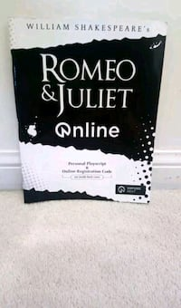 Romeo and juliet play book Oakville, L6M
